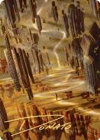 Art Series - Zendikar Rising - Signed: Brightclimb Pathway Art Card (Not Tournament Legal - Signed)