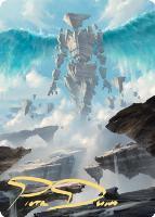 Art Series - Zendikar Rising - Signed: Celestial Colonnade Art Card (Not Tournament Legal - Signed)