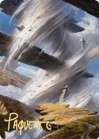 Art Series - Zendikar Rising - Signed: Plains Art Card (Adam Paquette - Not Tournament Legal - Signed)