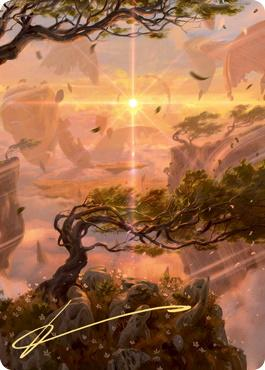 Art Series - Zendikar Rising - Signed: Windswept Heath Art Card (Not Tournament Legal - Signed)