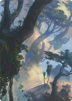 Art Series - Zendikar Rising: Forest Art Card (Sam Burley - Not Tournament Legal)