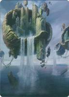Art Series - Zendikar Rising: Island Art Card (Anna Steinbauer - Not Tournament Legal)