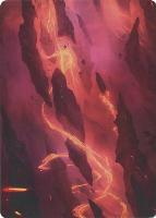 Art Series - Zendikar Rising: Mountain Art Card (Sam Burley - Not Tournament Legal)