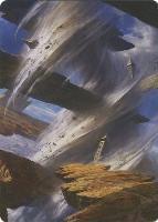 Art Series - Zendikar Rising: Plains Art Card (Adam Paquette - Not Tournament Legal)
