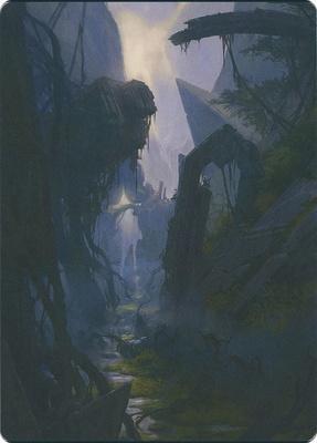 Art Series - Zendikar Rising: Swamp Art Card (Slawomir Maniak - Not Tournament Legal)