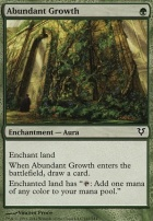 Avacyn Restored Foil: Abundant Growth