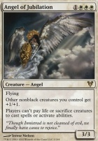 Avacyn Restored Foil: Angel of Jubilation