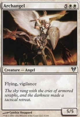 Avacyn Restored Foil: Archangel