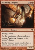 Avacyn Restored Foil: Archwing Dragon