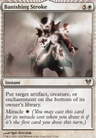 Avacyn Restored Foil: Banishing Stroke