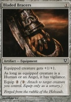 Avacyn Restored Foil: Bladed Bracers