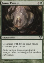 Avacyn Restored Foil: Bower Passage