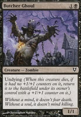 Avacyn Restored: Butcher Ghoul