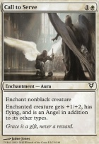 Avacyn Restored Foil: Call to Serve