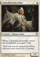 Avacyn Restored Foil: Cathedral Sanctifier