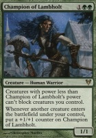 Avacyn Restored: Champion of Lambholt