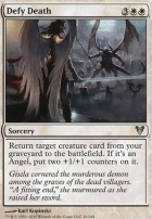 Avacyn Restored: Defy Death