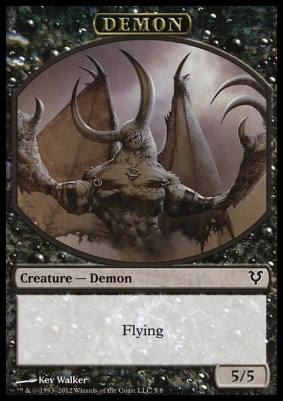 Avacyn Restored: Demon Token
