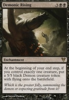 Avacyn Restored Foil: Demonic Rising