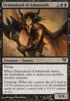Avacyn Restored Foil: Demonlord of Ashmouth