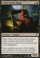 Avacyn Restored Foil: Driver of the Dead