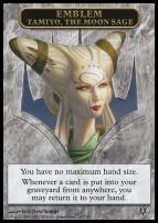 Avacyn Restored: Emblem (Tamiyo, The Moon Sage)