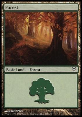 Avacyn Restored: Forest (243 B)