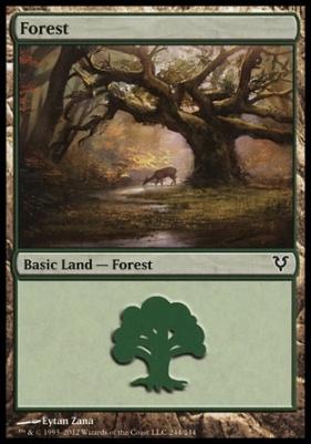 Avacyn Restored: Forest (244 C)