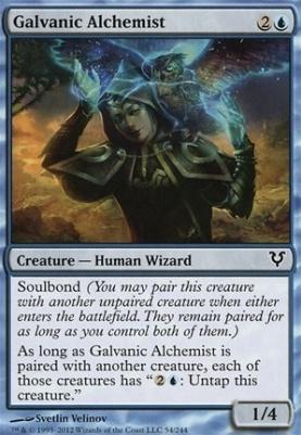 Avacyn Restored Foil: Galvanic Alchemist