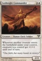 Avacyn Restored Foil: Goldnight Commander