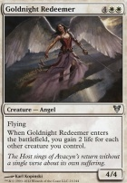 Avacyn Restored Foil: Goldnight Redeemer