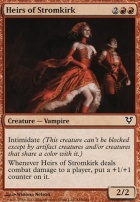 Avacyn Restored Foil: Heirs of Stromkirk