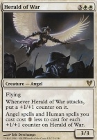 Avacyn Restored Foil: Herald of War