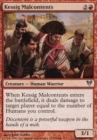 Avacyn Restored: Kessig Malcontents