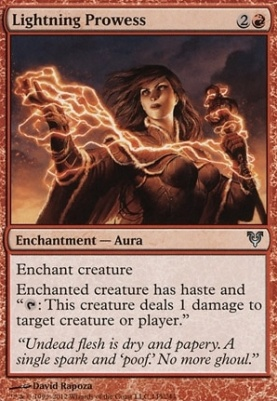 Avacyn Restored: Lightning Prowess