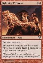 Avacyn Restored Foil: Lightning Prowess