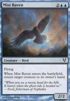 Avacyn Restored Foil: Mist Raven