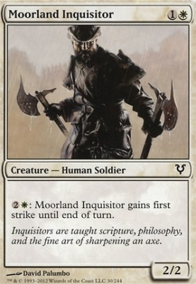 MTG Modern Card Prices | Avacyn Restored | Moorland Inquisitor |