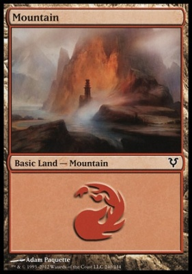 Avacyn Restored: Mountain (240 B)