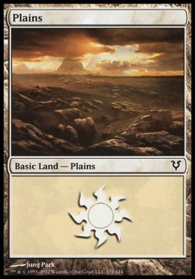 Avacyn Restored: Plains (231 B)