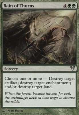 Avacyn Restored: Rain of Thorns