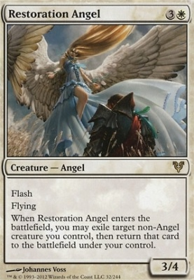 Avacyn Restored Foil: Restoration Angel