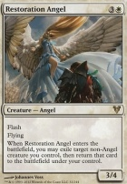 Avacyn Restored: Restoration Angel