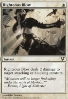 Avacyn Restored Foil: Righteous Blow