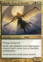 Avacyn Restored Foil: Sigarda, Host of Herons