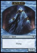 Avacyn Restored: Spirit Token (Blue)