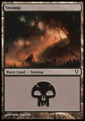 Avacyn Restored: Swamp (237 B)