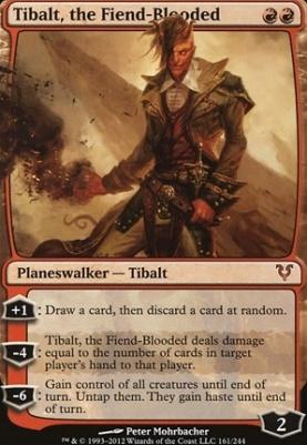 Avacyn Restored: Tibalt, the Fiend-Blooded