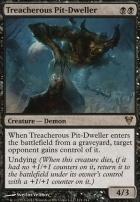 Avacyn Restored: Treacherous Pit-Dweller
