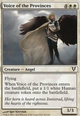Avacyn Restored Foil: Voice of the Provinces